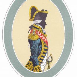 Admiral, Full Dress, 1795-1812