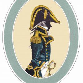 Captain, Full Dress, 1795-1812