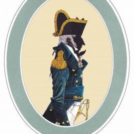 Captain, Undress Uniform, 1795-1812