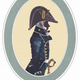 Lieutenant, Undress Uniform, 1787-1812