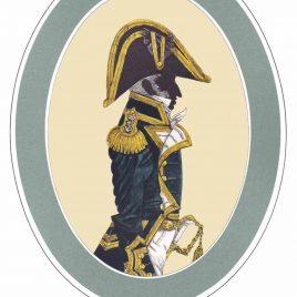 Captain 3 years post, Full Dress, 1812-1825
