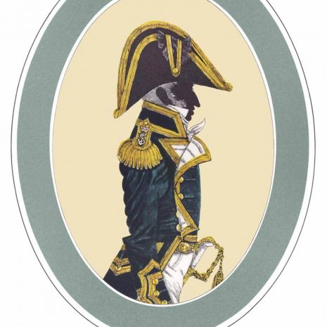AR09 B Captain 3 years post, full dress (1812-1825)