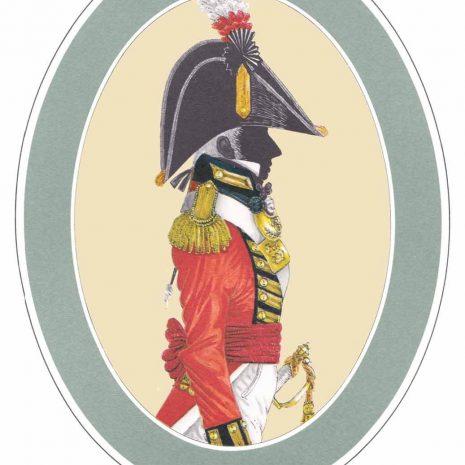 AR10 B Officer of the Royal Marines, Full Dress (c.1805)