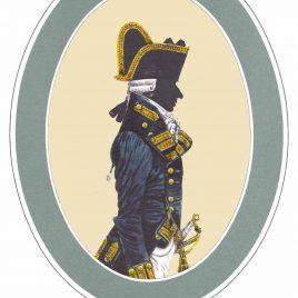 Rear-Admiral, Frock Uniform, 1787-1795