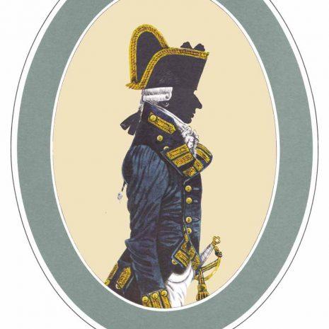 AR01 B Rear Admiral Frock Uniform (1787-1795)